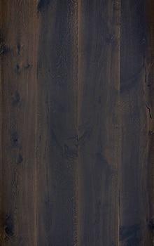 Oak beam wood smoked