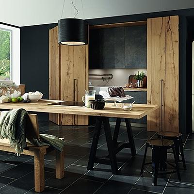 Balkenhout naturel keuken